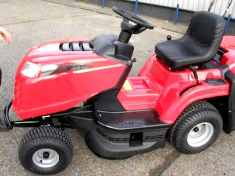 MOUNTFIELD 1430 GARDEN TRACTOR RIDE ON MOWER INTRO DEMONSTRATION VIDEO (видео)