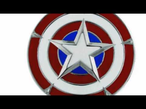 Video View the latest video of Captain Americas Shield Belt Buckle