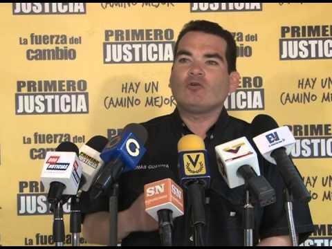 Tomás Guanipa: Hoy Maduro va a la AN a poner excusas y promocionar sus candidatos del continuismo