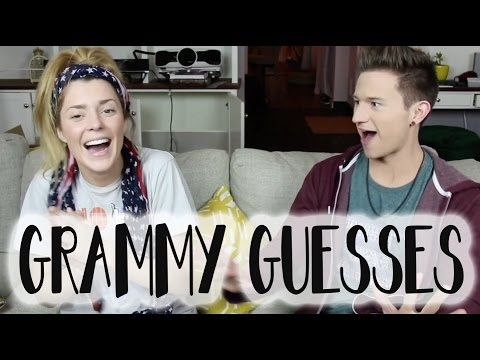 PREDICTING THE GRAMMY'S w/ RICKY DILLON // Grace Helbig
