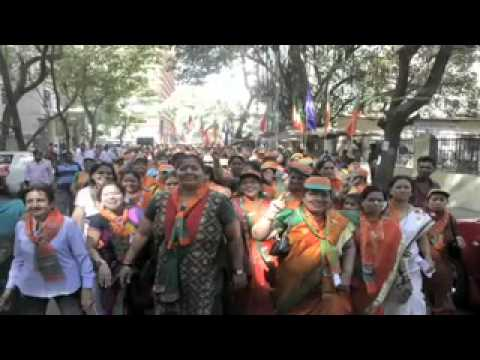 1st Rally of BJP-Shiv Sena-RPI Mahayuti North Mumbai