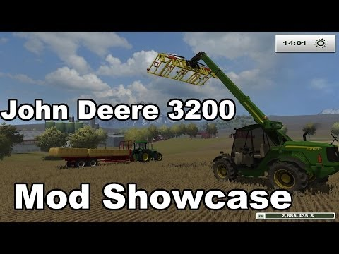 Farming Simulator 2013: John Deere 3200 Telehandler - Mod Showcase - Best Telehandler Yet!