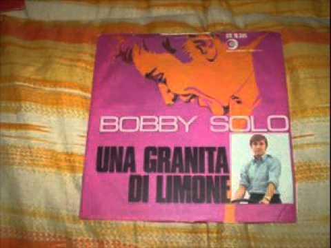 Tekst piosenki Bobby Solo - Una granita di limone po polsku