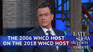 Video Stephen Colbert (The Other One) On Michelle Wolf's WHCD Speech MP3, 3GP, MP4, WEBM, AVI, FLV Juli 2018