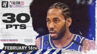 Kawhi Leonard 30 Pts MVP Full Highlights - 2020 NBA All-Star Game