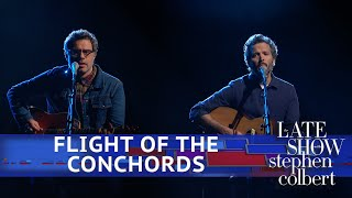 Video Flight Of The Conchords Perform 'Father & Son' MP3, 3GP, MP4, WEBM, AVI, FLV September 2018