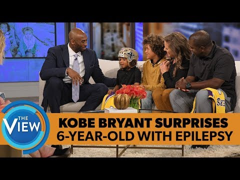 Kobe Bryant Surprises 6-year-old With Epilepsy | The View