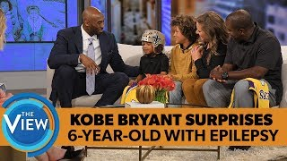 Video Kobe Bryant Surprises 6-year-old With Epilepsy | The View MP3, 3GP, MP4, WEBM, AVI, FLV September 2018