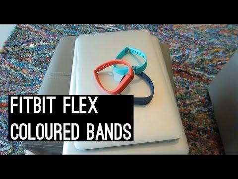 Fitbit Flex Coloured Bands
