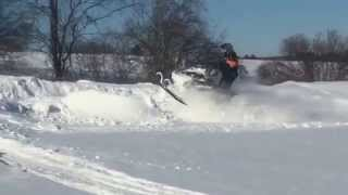 7. Skidoo Summit 600 etec MBRP-  Deeper days