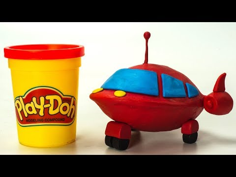 Play doh - Little Einsteins Disney Junior Kids Play-Doh Cars  Stop Motion Animation