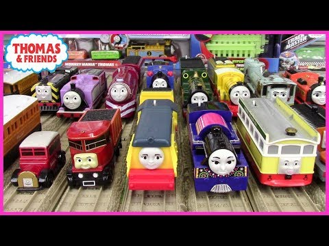 The Female Engines of Thomas and Friends Trackmaster| List of Female Characters| Toy Trains for Kids