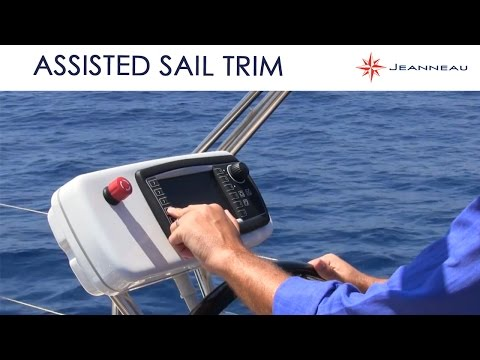 ASSISTED SAIL TRIM from Jeanneau and Harken