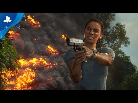 Uncharted: The Lost Legacy PS4 játékszoftver