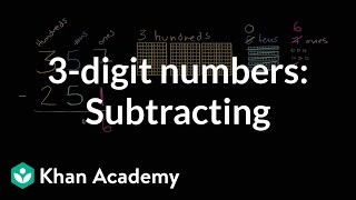 Sal shows how to subtract 357-251 with place value.Watch the next lesson: https://www.khanacademy.org/math/cc-2nd-grade-math/cc-2nd-add-subtract-1000/cc-2nd-strategies-for-adding-two-and-three-digit-numbers/v/breaking-apart-three-digit-addition-problems?utm_source=YT&utm_medium=Desc&utm_campaign=2ndgradeMissed the previous lesson? https://www.khanacademy.org/math/cc-2nd-grade-math/cc-2nd-add-subtract-1000/cc-2nd-sub-ones-tens-hundreds/v/subtracting-3-digits?utm_source=YT&utm_medium=Desc&utm_campaign=2ndgrade2nd grade on Khan Academy: Learn to see three-digit numbers as hundreds, tens, and onesAbout Khan Academy: Khan Academy is a nonprofit with a mission to provide a free, world-class education for anyone, anywhere. We believe learners of all ages should have unlimited access to free educational content they can master at their own pace. We use intelligent software, deep data analytics and intuitive user interfaces to help students and teachers around the world. Our resources cover preschool through early college education, including math, biology, chemistry, physics, economics, finance, history, grammar and more. We offer free personalized SAT test prep in partnership with the test developer, the College Board. Khan Academy has been translated into dozens of languages, and 100 million people use our platform worldwide every year. For more information, visit www.khanacademy.org, join us on Facebook or follow us on Twitter at @khanacademy. And remember, you can learn anything.  For free. For everyone. Forever. #YouCanLearnAnythingSubscribe to Khan Academy's 2nd grade channel: https://www.youtube.com/channel/UCNKAFuuw3dpsiSl9n90zgvw?guided_help_flow=3?sub_confirmation=1Subscribe to Khan Academy: https://www.youtube.com/subscription_center?add_user=khanacademy