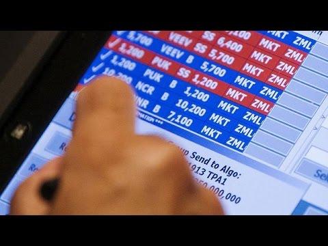 Αναστολή διαπραγμάτευσης στη Wall Street