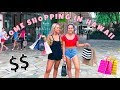 Come shopping with us in Hawaii $600 later! Mescia Twins