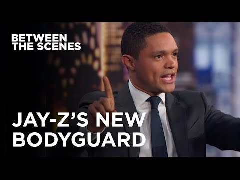Jay-Z's New Bodyguard - Between the Scenes | The Daily Show