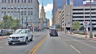 Dallas (TX) United States  City pictures : Driving Downtown - Main Street - Dallas Texas USA