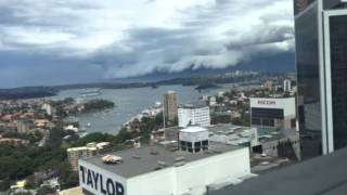 Sydney thunderstorms weather zone time lapse video