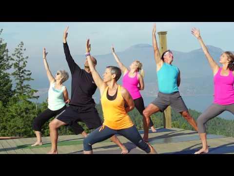 Yoga at Predator Ridge