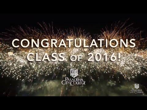 Pasadena City College Commencement 2016