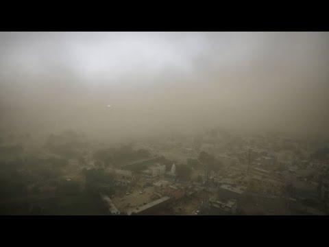 Dramatische Unwetter: Tote bei Sturm in Indien