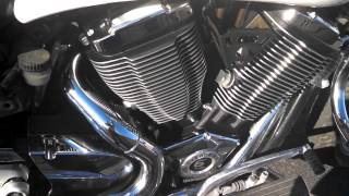 1. 2007 Victory Kingpin 100ci engine