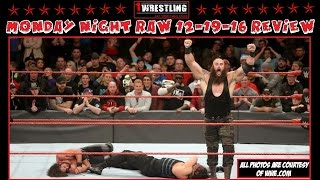 Nonton Wwe Monday Night Raw 12 19 16 Review  Braun Stroman Takes Out Reigns   Rollins  Film Subtitle Indonesia Streaming Movie Download