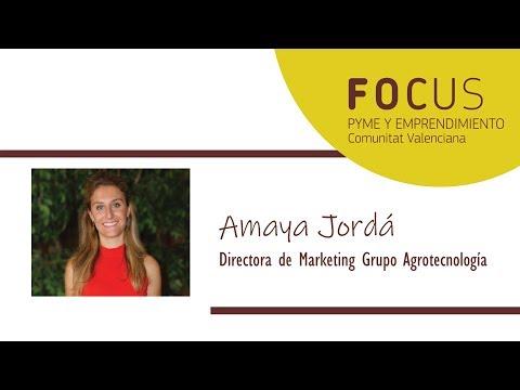 Vídeo Entrevista Amaya Jordá Focus Pyme Vega Baja 2019[;;;][;;;]