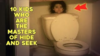 Video 10 Kids Who Are The Masters Of Hide And Seek MP3, 3GP, MP4, WEBM, AVI, FLV Mei 2019