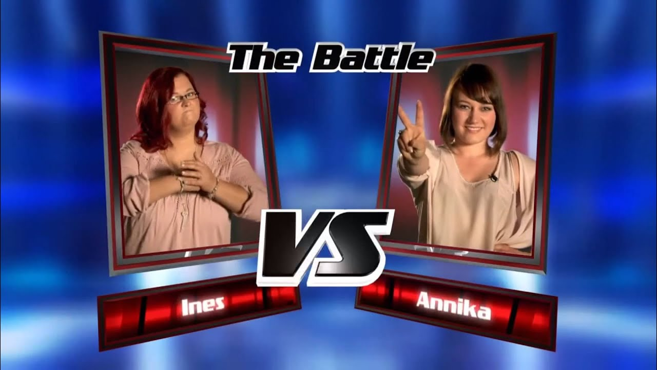 Ines vs. Annika: Wake Me Up | The Voice of Germany 2013 | Battle