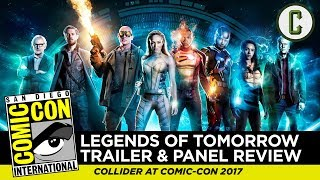 "Josh Macuga and David Griffin talk about the trailer footage and panel for ""DC's Legends of Tomorrow"" on the CW, from San Diego Comic-Con 2017.Follow us on Twitter: https://twitter.com/ColliderVideoFollow us on Instagram: https://instagram.com/ColliderVideoFollow us on Facebook: https://facebook.com/colliderdotcomAs the online source for movies, television, breaking news, incisive content, and imminent trends, COLLIDER is a more than essential destination: http://collider.comFollow Collider.com on Twitter: https://twitter.com/ColliderSubscribe to the SCHMOES KNOW channel: https://youtube.com/schmoesknowCollider Show Schedule:- MOVIE TALK: Weekdays  http://bit.ly/29BRtOO- HEROES: Weekdays  http://bit.ly/29F4Job- MOVIE TRIVIA SCHMOEDOWN: Tuesdays & Fridays  http://bit.ly/29C2iRV - TV TALK: Mondays  http://bit.ly/29BR7Yi - COMIC BOOK SHOPPING: Wednesdays  http://bit.ly/2spC8Nn- JEDI COUNCIL: Thursdays  http://bit.ly/29v5wVi - COLLIDER NEWS WITH KEN NAPZOK: Weekdays  http://bit.ly/2t9dNIE- BEST MOVIES ON NETFLIX RIGHT NOW: Fridays  http://bit.ly/2txP3gn- BEHIND THE SCENES & BLOOPERS: Saturdays  http://bit.ly/2kuLuyI- MAILBAG: Weekends  http://bit.ly/29UsKsd"