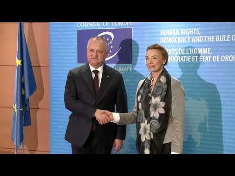 Глава государства провел встречу с Генеральным секретарем Совета Европы