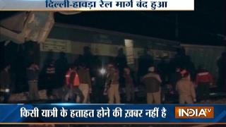 Kalindi Express derails near Tundla in Uttar Pradesh, no injuries