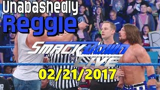 Nonton Wwe Smackdown Live 02 21 2017 Reaction   Review  Results  Film Subtitle Indonesia Streaming Movie Download