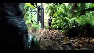 JURASSIC WORLD - THẾ GIỚI KHỦNG LONG - Owen chạy trốn Indominus Rex, the gioi khung long, phim the gioi khung long, xem phim the gioi khung long