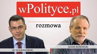 Adam Borowski gościem studia wPolityce.pl
