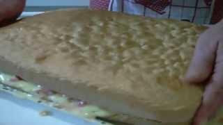 Ricetta Della Torta Di Fragole E Crema