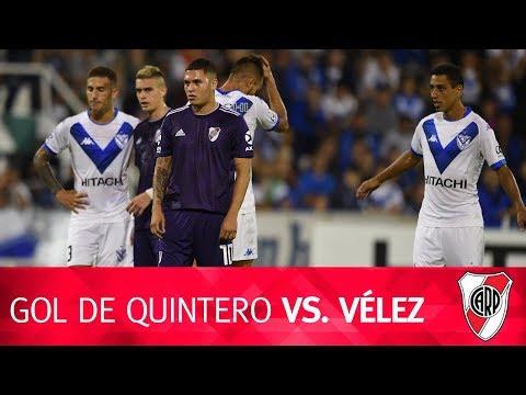 Gol de Quintero vs. Vélez