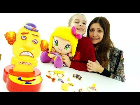 SFIDA di coppia CHALLENGE divertenti  FUNNY FACE gioco da tavolo fantastico giocattolo per bambini