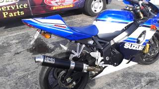 1. 2005 Suzuki GSXR-600 20th Anniversary Edition