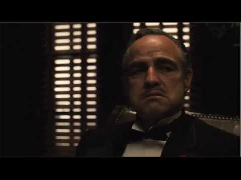 Scene - the godfather best scene P.s: i love his cat.