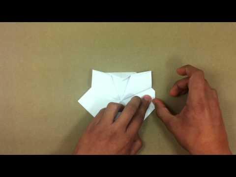 Hacer Hello Kitty de origami - Papiroflexia para niños