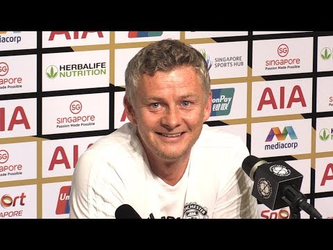 Ole Gunnar Solskjaer & Nemanja Matic Pre-Match Press Conference - Man Utd v Inter Milan - Utd Tour