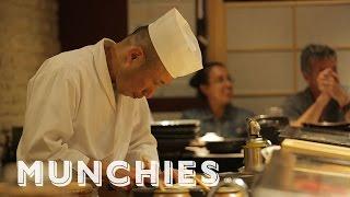 Bringing the Art of Sushi to Harlem: The Sushi Chef with Shinichi Inoue by Munchies