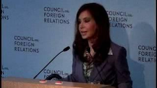 A Conversation With Cristina Fernandez De Kirchner