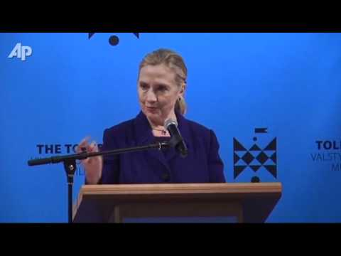 Video Clinton Calls Russian Election Unfair download in MP3, 3GP, MP4, WEBM, AVI, FLV January 2017