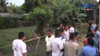 Asesinan a ocho personas en Sonsonate