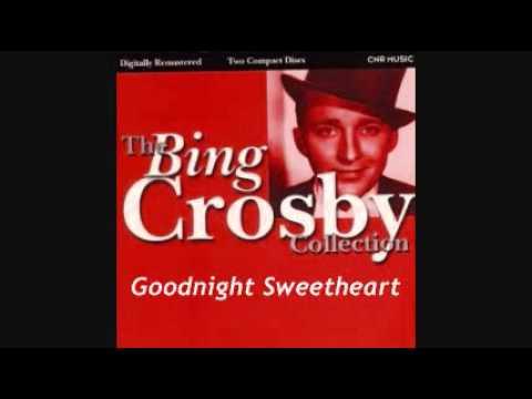 Tekst piosenki Bing Crosby - Good Night Sweetheart po polsku